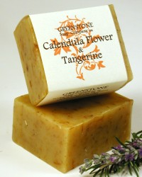 Calendula Tangerine Herbal Soap