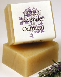 Lavender Oatmeal Herbal Soap