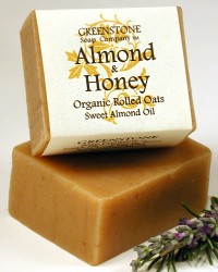 Almond Honey Herbal Soap