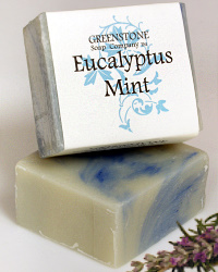 Eucalyptus Mint Herbal Soap